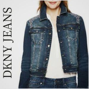 🆕️NWOT. DKNY JEANS Denim Jacket!